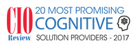 20 Most Promising Cognitive Solution Providers-2017